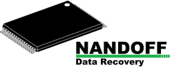 NANDoff Data Recovery Snapped USB